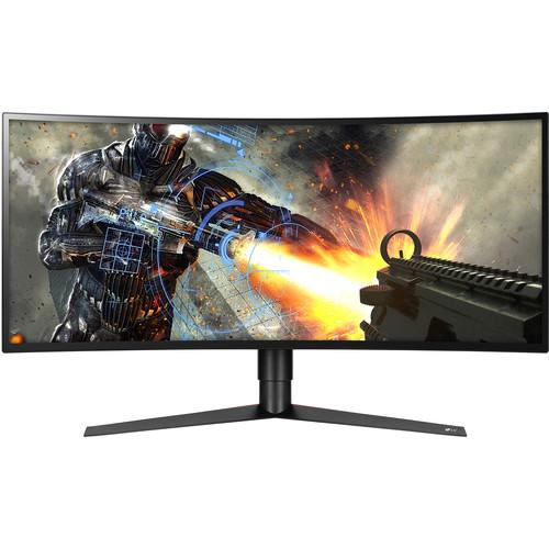 """34"""" LG 34GK950F-B Curved 144Hz 3440x1440 FreeSync 2 Monitor $849.99"""