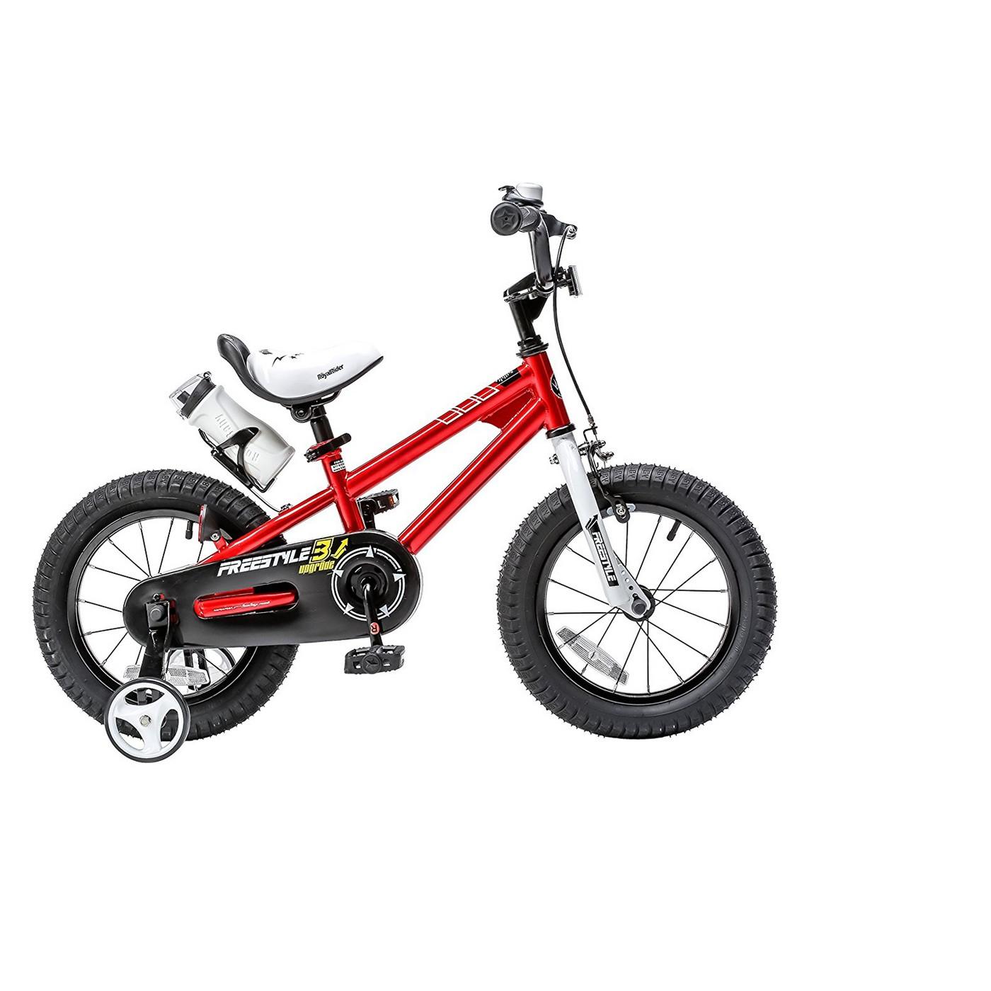 "RoyalBaby Kids Freestyle 16"" Red BMX Bike $75.99 + Free Shipping"