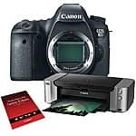 Canon EOS 6D DSLR Camera with PIXMA PRO-100 Printer Kit $1149.00 after Mail-in Rebate Adorama/BandH