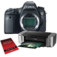 Adorama Deal: Canon EOS 6D DSLR Camera with PIXMA PRO-100 Printer Kit $1149.00 after Mail-in Rebate Adorama/BandH