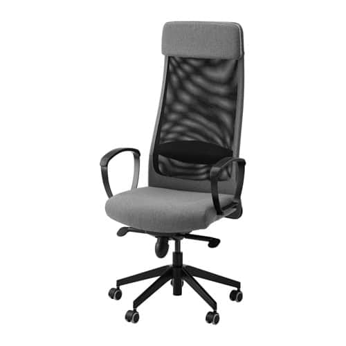 Ikea MARKUS Swivel Chair (Vissle gray only) for $99.00 YMMV