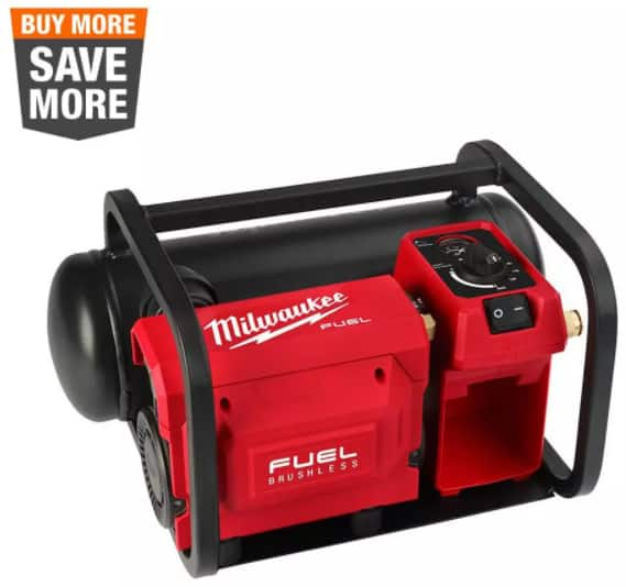 Milwaukee M18 Compact Quiet Air Compressor $245 Hackable Home Depot