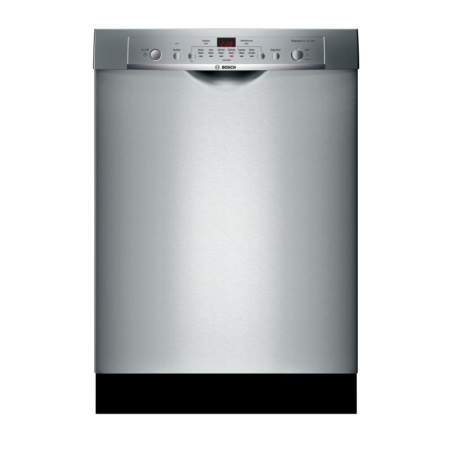 Lowes: Bosch Ascenta 50 Stainless Steel Dishwasher $485 include ...