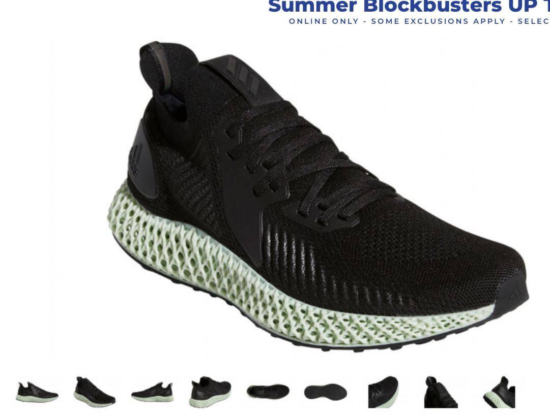 Unisex Adidas Alphaedge 4D Running Shoe - $209.98 (30% off) + Free Shipping