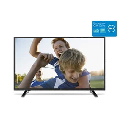 dell doorbuster  32 LG LED 32LH500B  $190  with 100 dell gift card