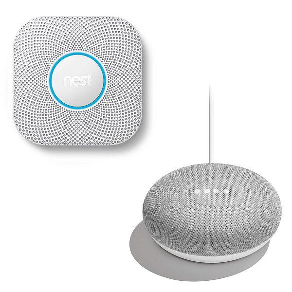 Nest Protect 2nd Gen w/ free Google Home Mini $95.2