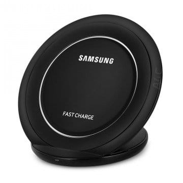 Samsung EP-NG930 Fast Charge Wireless Charging Stand Black Sapphire & Samsung EP-TA20JWE Rapid Charger (Refurbished) $19