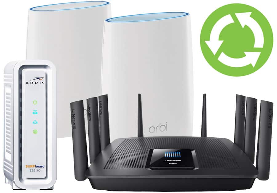 Bestbuy: Recycle and Save - 15% of the new router, modem or wifi device/setup for recycling any networking gear