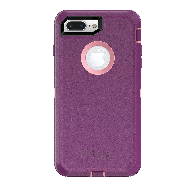 OtterBox DEFENDER SERIES Case for iPhone 8 Plus & iPhone 7 Plus - VINYASA (ROSMARINE/PLUM HAZE) $35.26