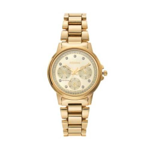 Citizen Eco-Drive Women's Silhouette Crystal Stainless Steel Watch - $60 Kohl's cash $201.45