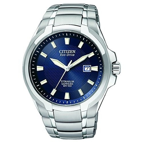Citizen Watches BM7170-53L Eco-Drive Titanium Watch Watches Titanium - Sapphire $188