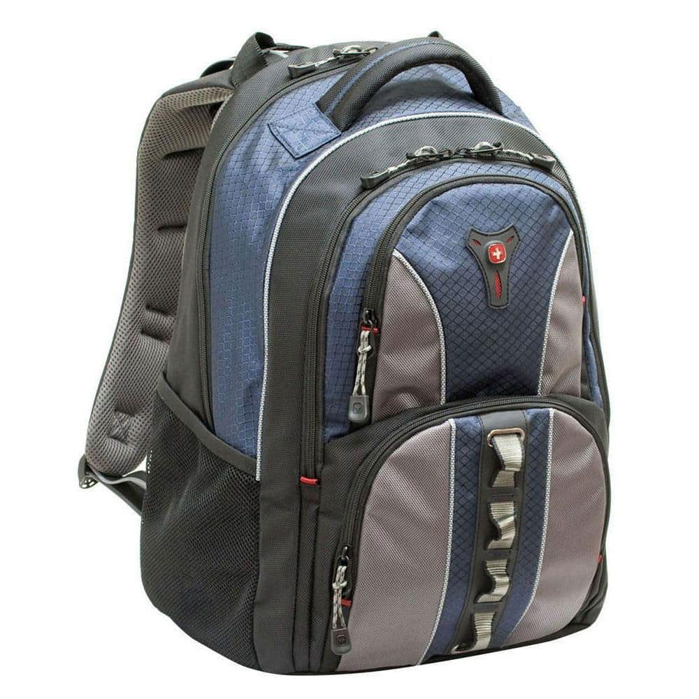 DELL: Swiss Gear COBALT Computer Backpack - Fits Laptops with up to 15.6-inch - Blue - $20 GC $40