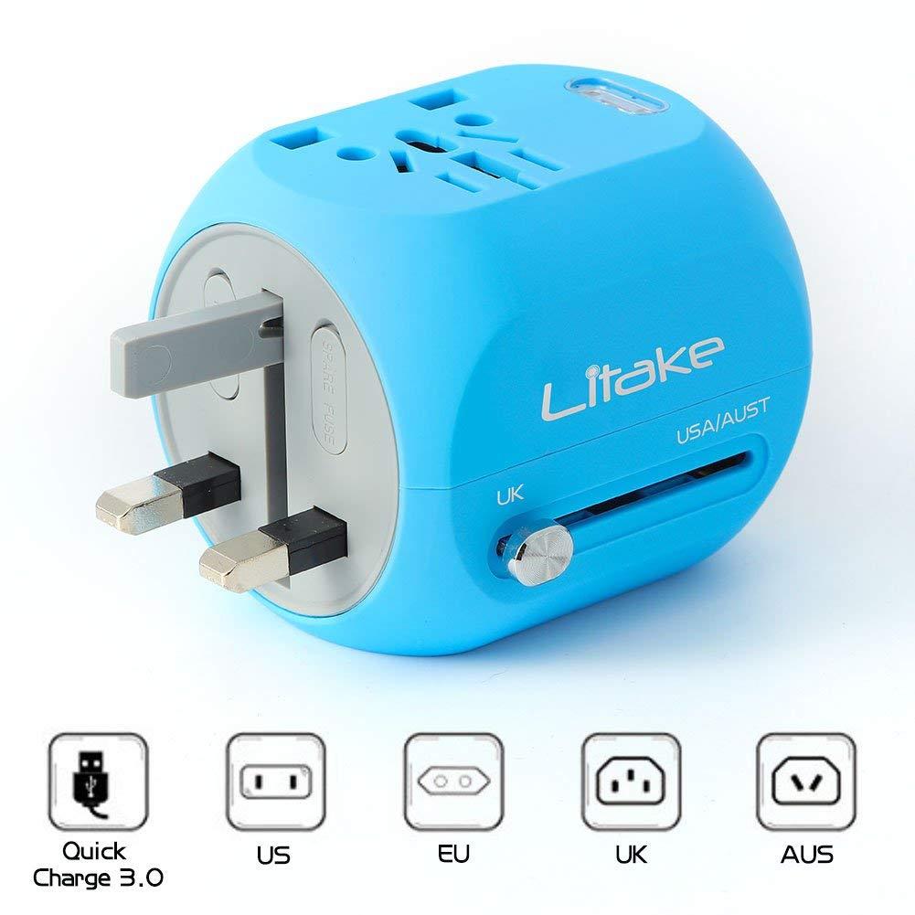 Litake Mini Travel Power Adapter 9 60 Com