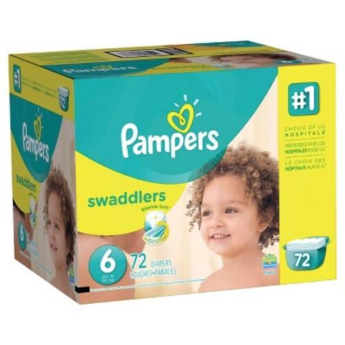 Pampers Swaddlers Diapers Giant Pack (Select Size) $ 34.99 on target.com $34.99