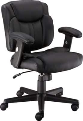 Staples Telford II Luxura Managers Chair, Black  $59.99 @Staples