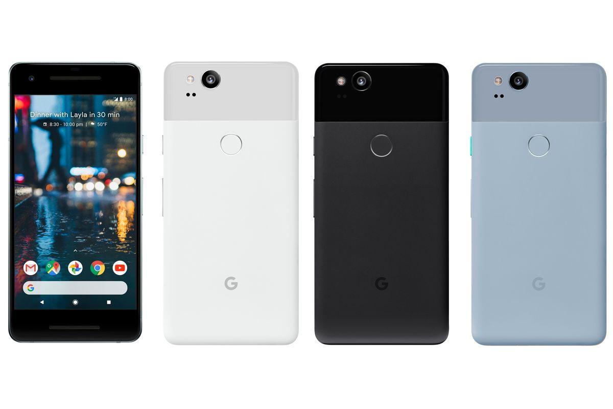 Google Pixel 2 - $649, Pixel XL2 - $849, Trade In Credit