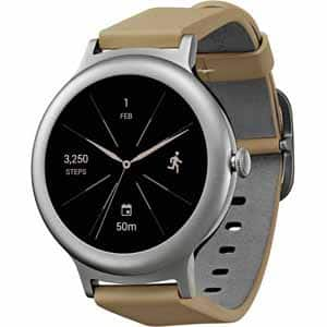 LG Watch Style Smartwatch with Android Wear 2.0 & Gorilla Glass 3 - Silver - $129.99