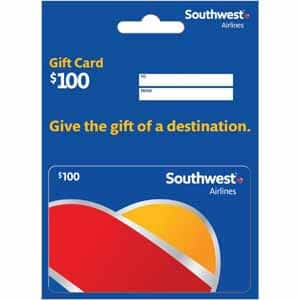 Southwest $100 Gift Card for $85