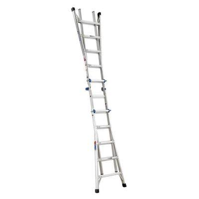 Werner MT-22, 22ft Aluminum Telescoping Multi-position Ladder. 300lb, Type 1A - $169 @ Home Depot