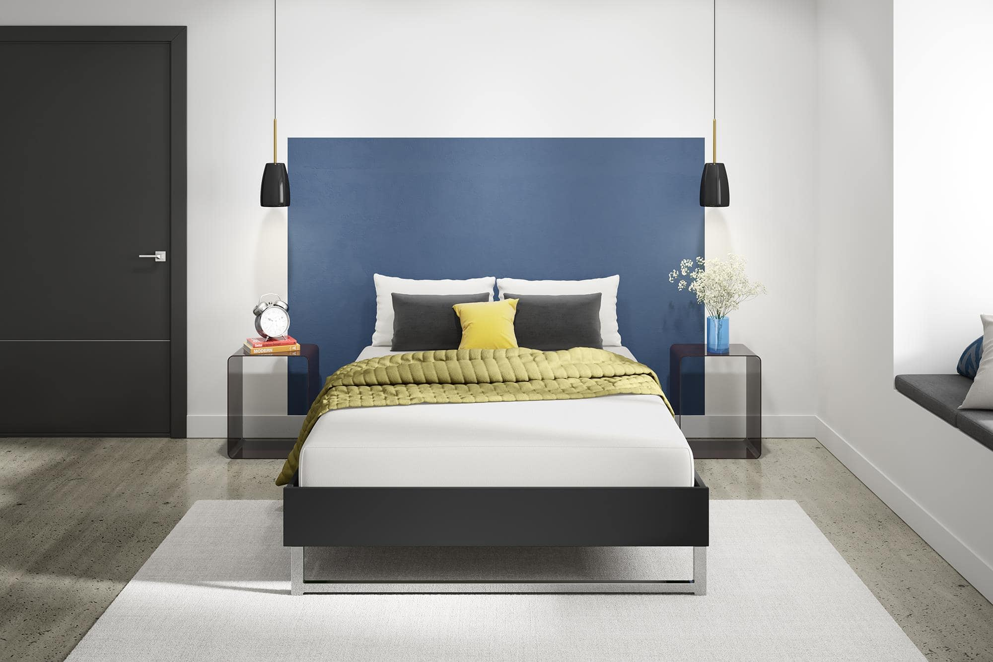 Amazon 8 Signature Sleep Memory Foam Mattress Queen 170 84