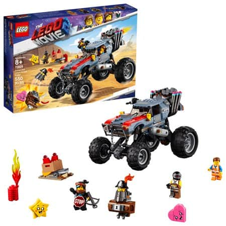 LEGO THE LEGO MOVIE 2 Escape Buggy 70829 (550 Pieces) $32 99 Free Shipping  Amazon, Walmart+ filler