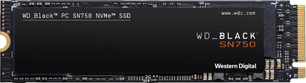 Western Digital WD Black SN750 NVMe 1TB Internal PCI Express 3.0 x4 Solid State Drive  WDBRPG0010BNC-WRSN - $115.99