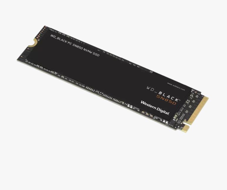 WD Black 500GB SN850 NVMe Internal Gaming SSD Solid State Drive - Gen4 PCIe, M.2 2280, 3D NAND, Up to 7,000 MB/s - WDS500G1X0E $99.99