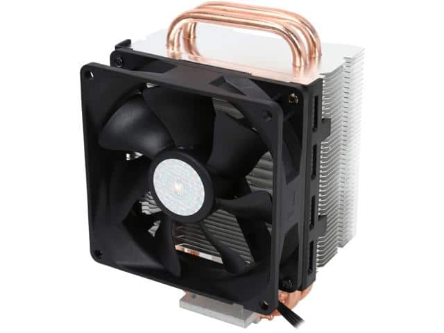 Cooler Master Hyper T2 - Compact CPU Cooler with Dual Looped Direct Contact Heatpipes $11.99 AR @Newegg