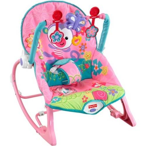 Fisher-Price Girls' Infant-to-Toddler Rocker $22 @Walmart