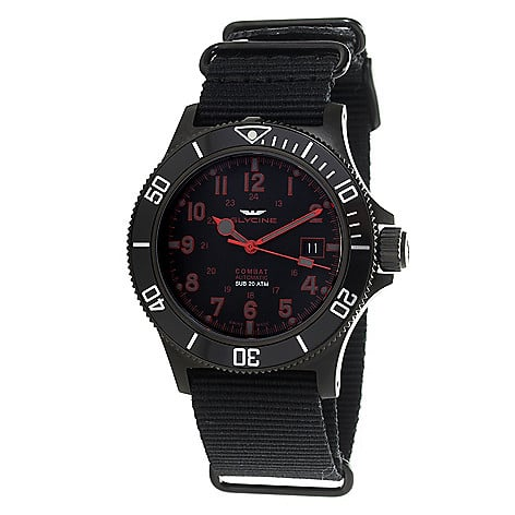 Glycine Men's 42mm Combat Swiss Made Automatic $ 299.99 + $11.99 (S&H)