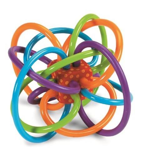 Manhattan Toy Winkel Rattle and Sensory Teether Toy 7.94 @Amazon $7.94