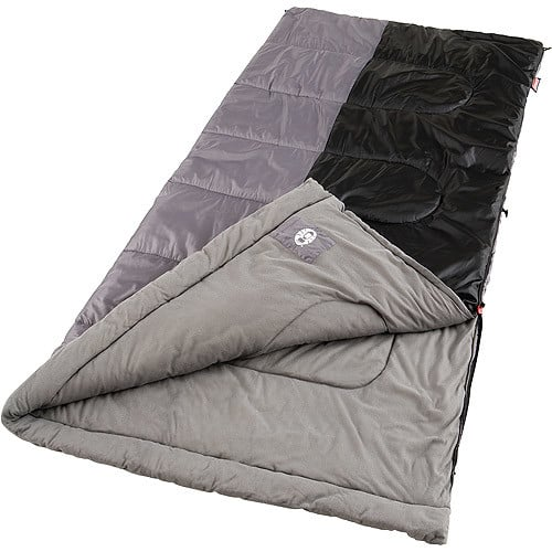 Coleman Biscayne Big and Tall Warm Weather Sleeping Bag $22.50 for Prime