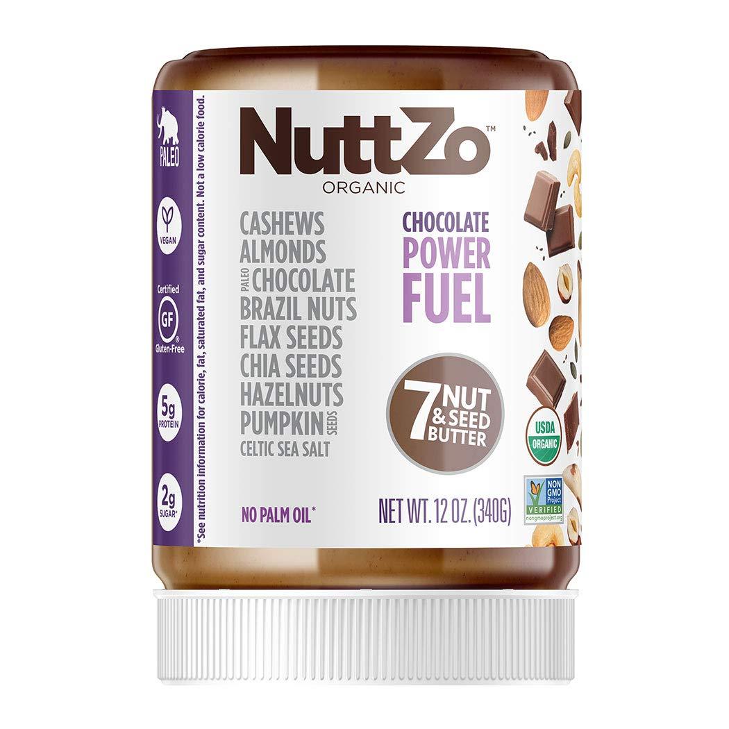 Organic Chocolate Nut Butter NuttZo 12oz - $3.37 Amazon FSSS