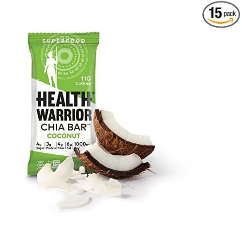 15 Count, 25g bars, HEALTH WARRIOR Chia Bars at $9.80 or less  AC + FSSS With Amazon Prime