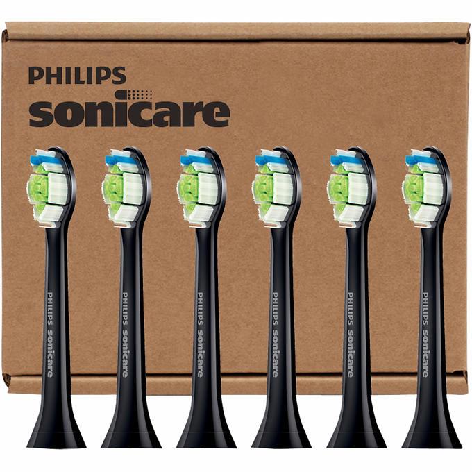 Costco has BLACK Philips Sonicare DiamondClean Brush Heads w/$10 off! ($40/6pk)