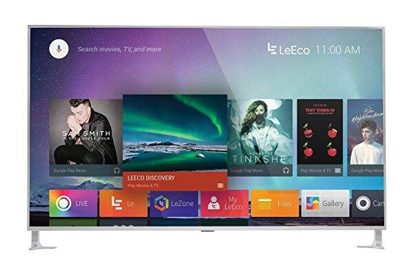 LeEco L654UCNN 65-Inch 4K Ultra HDR10 Smart LED TV, Silver (2016 Model) $899.00 FREE Scheduled Delivery!