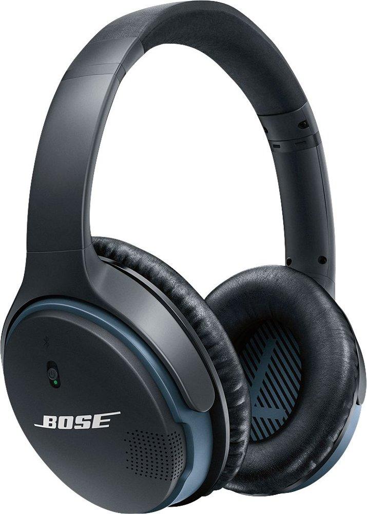 Bose - SoundLink Wireless Around-Ear Headphones II - Black/White $159