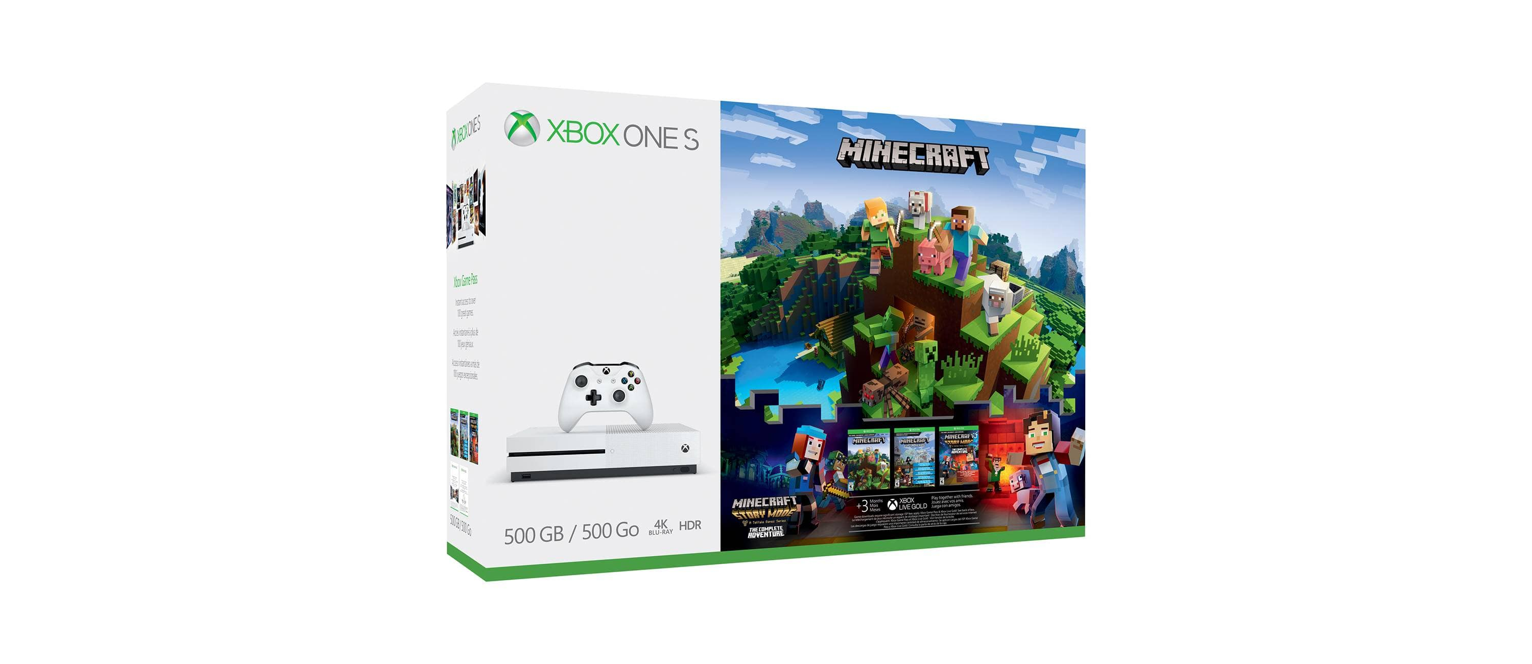 Xbox One S 500GB Minecraft Complete Adventure Bundle @ Target $199.99