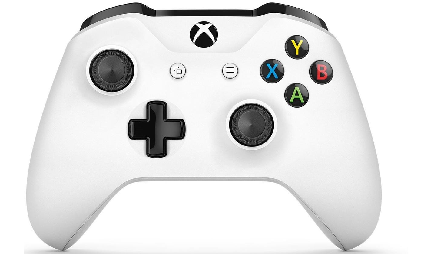 Microsoft Xbox One White Wireless Controller $44.99 + free shipping