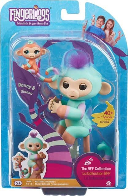 WowWee Fingerlings Danny / Gianna - Orange/Turquoise $4.99 - many others