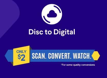 PSA: Movies added to Vudu disc to digital (D2D) $2