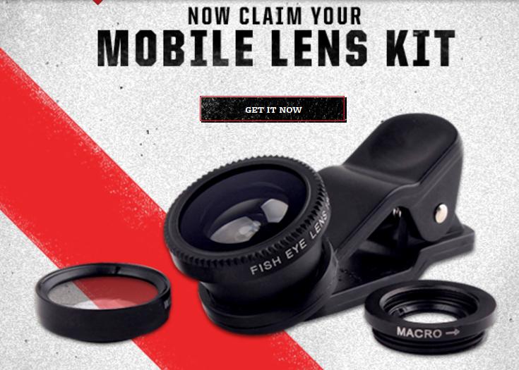 Marlboro  free photo lens kit  -  tobacco users  Void in MA, MI, VA and where prohibited.