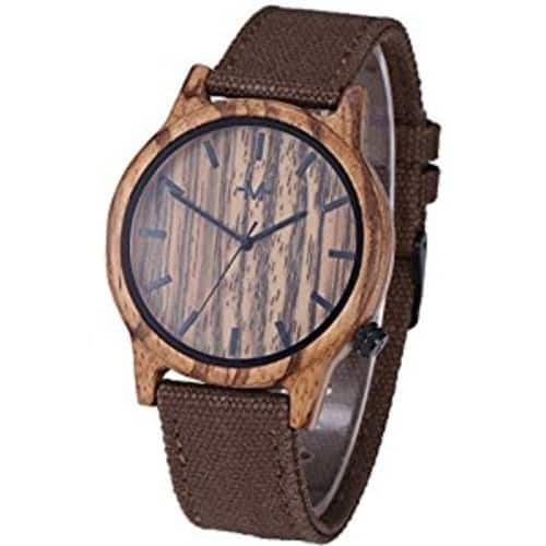 50% off Marino Mens Wooden Watches $17.48
