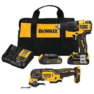 DeWalt ATOMIC 20-Volt MAX Brushless Hammer Drill/Driver / Oscillating Multi-Tool Combo Kit (2-Tool) $159