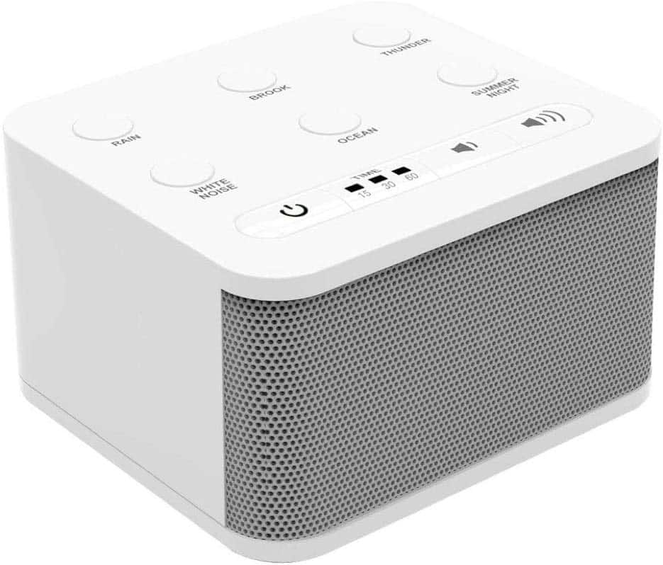 White Noise Sound Machine 9.99 after $10 coupon at Amazon $9.99