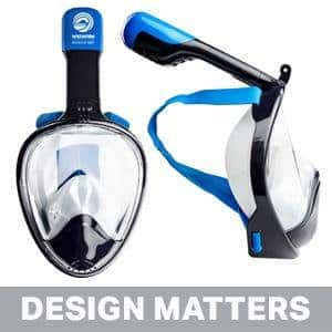 Wildhorn Outfitters - Seaview 180° GoPro Compatible Snorkel Mask $49.99 Amazon Deal of the Day