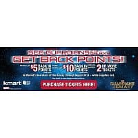 Fandango.com Deal: SYW Rewards $5-$10 for Buying Guardians of The Galaxy Tickets via Fandango and Shop Your Way Rewards