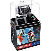 AEE Ultra HD Action Camera with 10x digital zoom and underwaster case plus accessories (remote, attachments, etc) - $  225