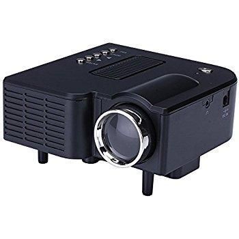 Micro Pico Home Cinema Theater Projector - $29