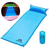 Inflating Camping Sleeping Pad Mat $12.49 FS w/Prime